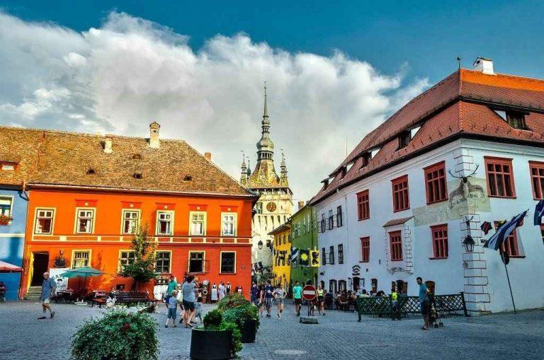 السياحة في سيغيسوارا في رومانيا