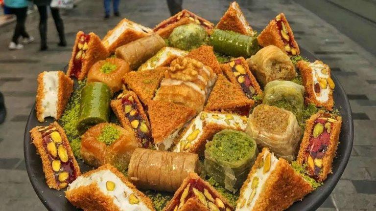 حلويات مشهورة في تركيا