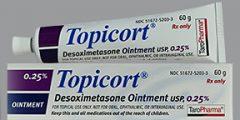 كريم توبيكورت لعلاج الاكزيما والصدفية Topicort