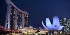 عاصمة دولة سنغافورة