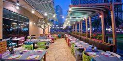 مطاعم مع جلسات خارجية في الشارقة