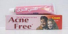 أكني فري Acne Free كريم لعلاج حب الشباب