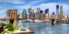 معلومات عن جسر بروكلين في نيويورك