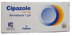 سيبازول فورت Cipazole Forte لعلاج الأميبا المعوية