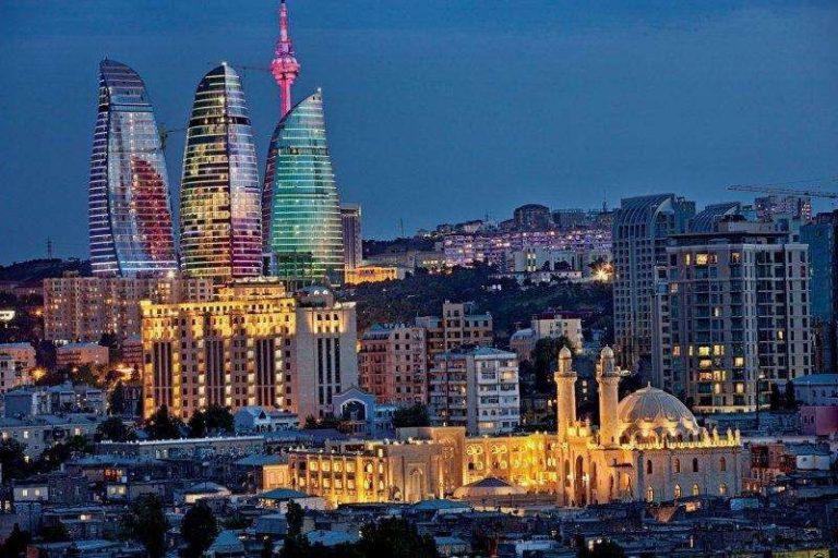 مدينة باكو في أذربيجان