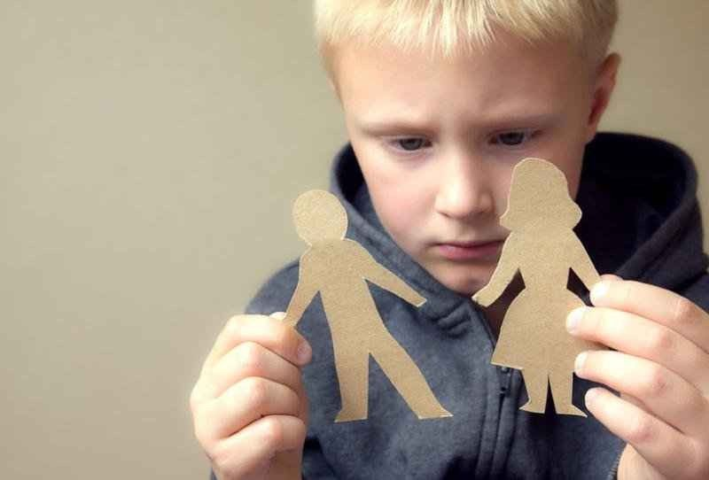 مشاكل الأطفال النفسية بعد الطلاق