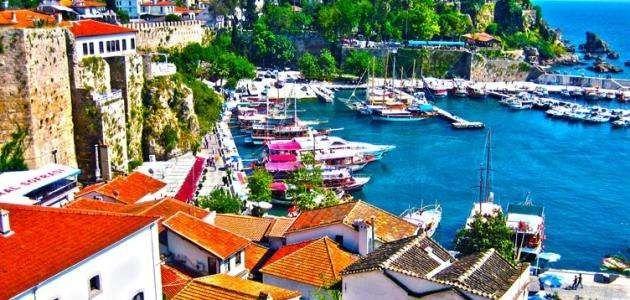 مدينة أنطاليا تركيا
