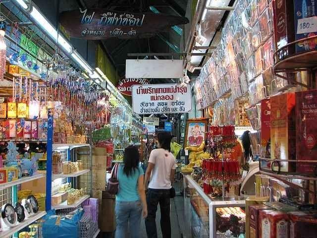 الأسواق الشعبية والرخيصة في بانكوك تايلند