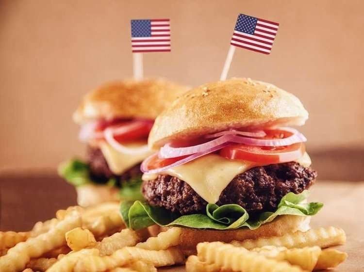 أكلات من المطبخ الأمريكي  –