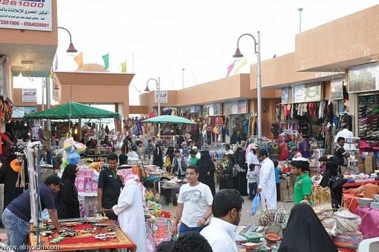 الاسواق الشعبية القديمة في الرياض وجهة التسوق الأكثر شعبية في الوطن العربي