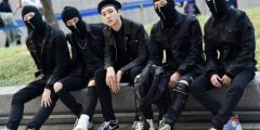 العصابات في كوريا
