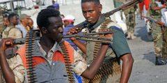 العصابات في الصومال
