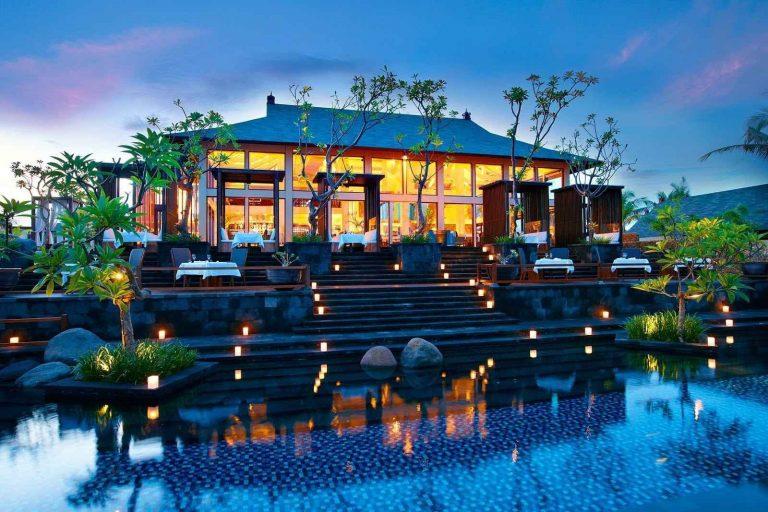 المطاعم السياحية في جزيرة بالي