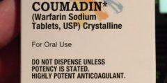 كومادين Coumadin لعلاج تخثر الدم