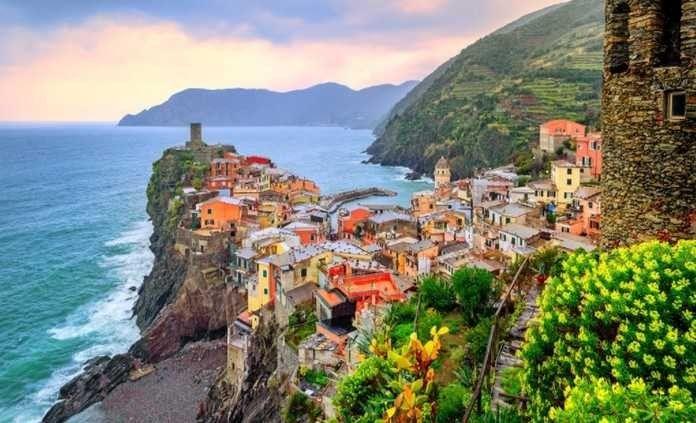 جمال الطبيعة في إيطاليا
