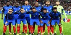 تشكيلة فرنسا في كاس العالم 2018