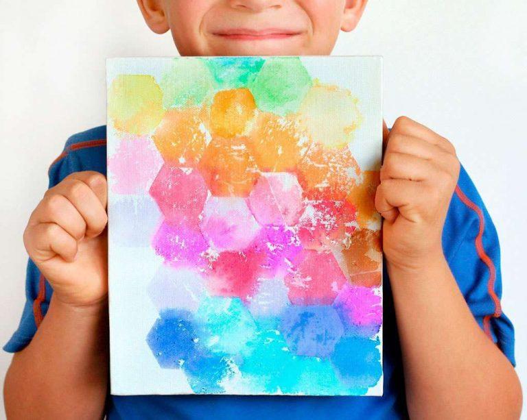 اشغال يدوية للاطفال بالورق الملون… أربعة اشغال يدوية سهلة وممتعة للاطفال بالورق الملون