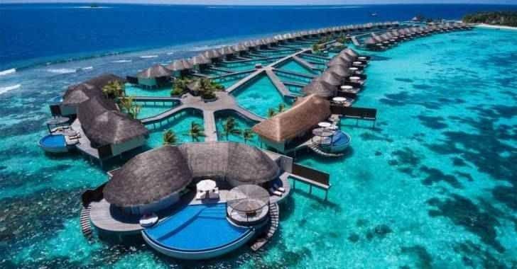 افضل فنادق جزر المالديف – 5 نجوم غاية في الرفاهية