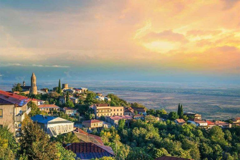 السياحة في مدينة سغناغي جورجيا : و 6 أنشطة واماكن سياحية