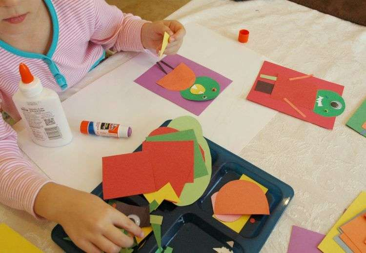 اعمال يدوية لاطفال الروضة… ستّة اعمال يدوية للاطفال باستخدام أدوات سهلة