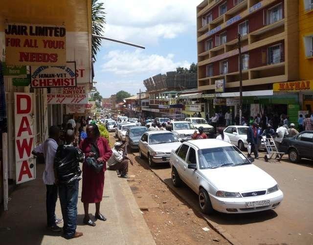 معلومات عن مدينة نيري كينيا