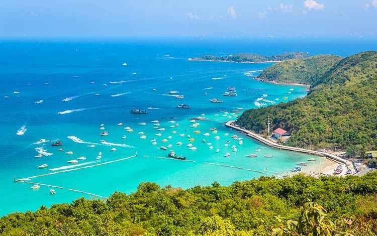 الأماكن السياحية في بتايا تايلند