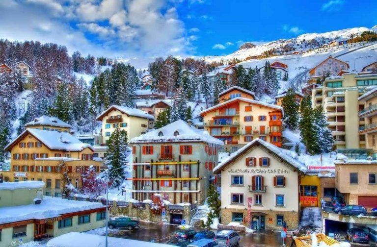 السياحة في سانت موريتز السويسرية .. دليلك لرحلة جميلة فى سانت موريتز السويسرية ..