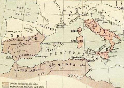 المسافات بين مدن تونس