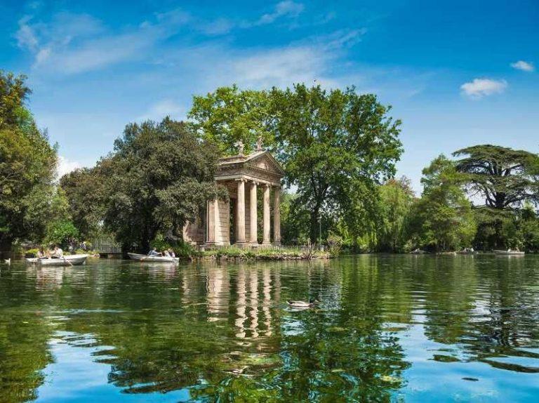 الطبيعة في روما
