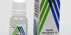 قطرة تيرز ناتورال Tears natural لعلاج جفاف العين