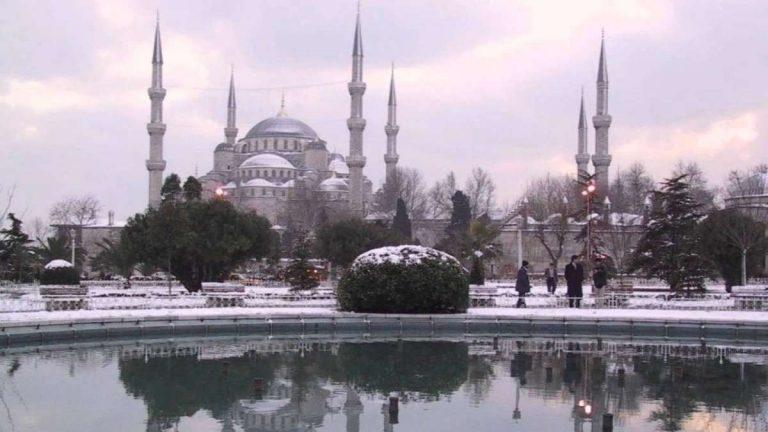 السياحة في تركيا في شهر ديسمبر
