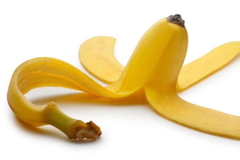 فوائد قشر الموز لليدين