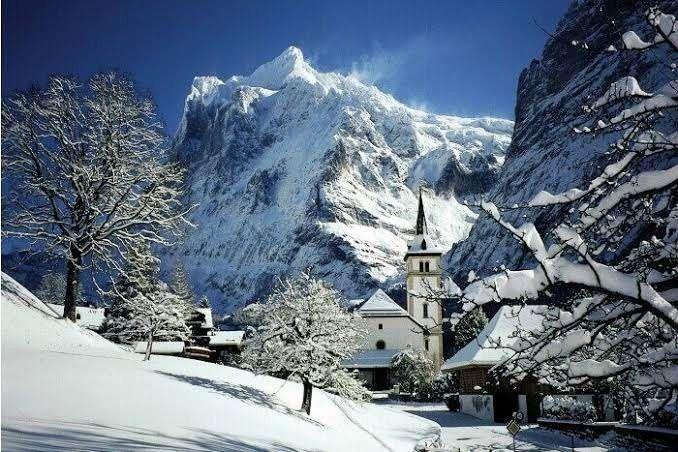 سويسرا فى الشتاء مع سحر جبال الألب والمدن السويسرية الرائعة