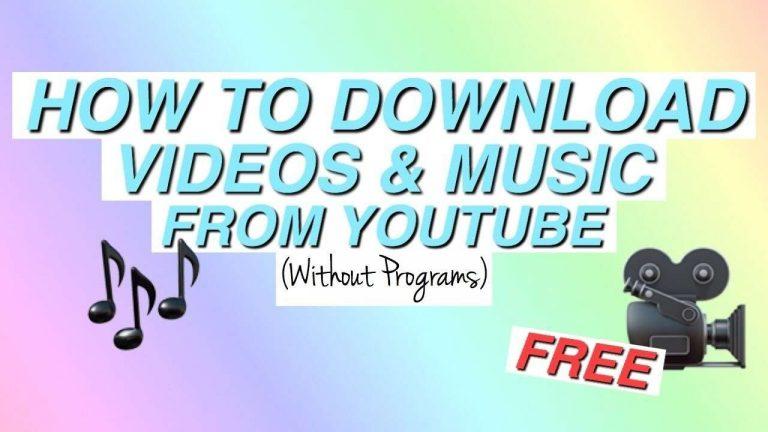 حفظ فيديوهات اليوتيوب بدون برامج