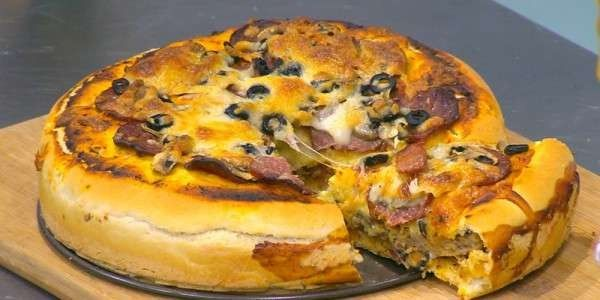 طريقة عمل تورتة البيتزا … أجمل الوصفات للبيتزا حول العالم