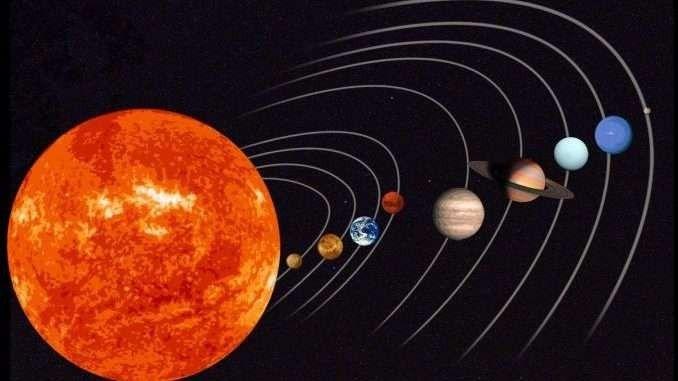 معلومات للأطفال عن المجموعة الشمسية