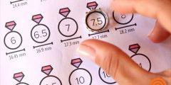 كيف تعرف مقاس خاتمك طريقتين لمعرفة ما هو مقاس خاتمك بدقة